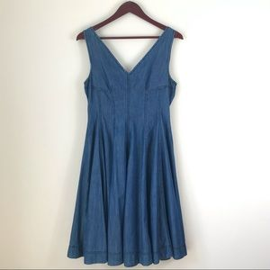 Anthropologie holding horses fit and flare dress 4